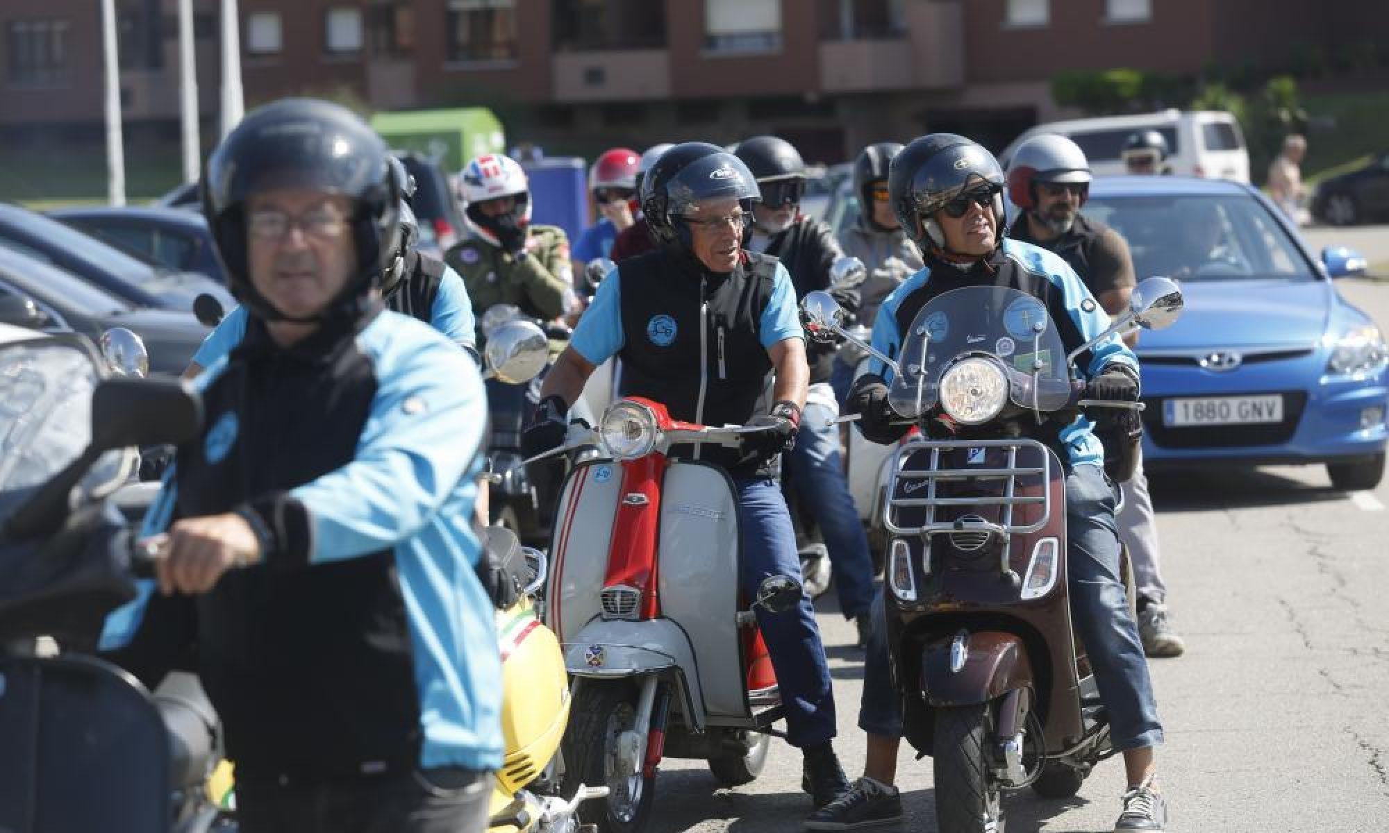Club Vespíritu Santo, aficionados de Vespas y Lambrettas